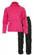 Typhoon Marie JR, regnkläder, rosa/svart