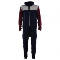 Mons Royale The Monsie One Piece, skidunderställ, Burgundy Navy