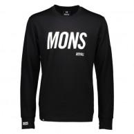 Mons Royale Original LS, skidundertröja, Black