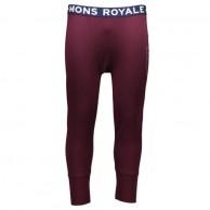Mons Royale Shaun Off, skidunderbyxor, Burgundy
