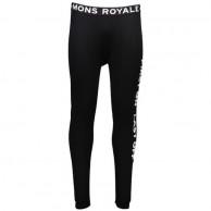 Mons Royale Double Barrel, skidunderbyxor herr, Black