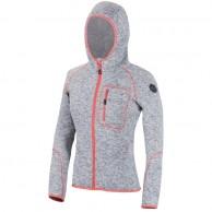 Cairn Roselend W, fleece jacka, dam, grå/korall