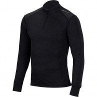 Cairn Comfort Zip 180 M, skidundertröja, män, svart