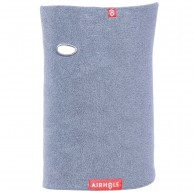 Airhole Halsvärmare Microfleece, heather grey
