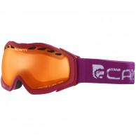 Cairn Freeride, skidglasögon, vinröd