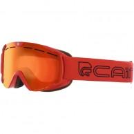 Cairn Scoop, skidglasögon, röd