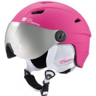 Cairn Electron, junior skidhjälm med visir, rosa
