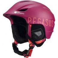 Cairn Pegasus, skidhjälm, vinröd