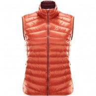 Haglöfs Essens II Down Vest Women, röd
