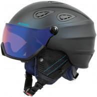 Alpina Grap Visor HM, skidhjälm med Visir, mörkblå