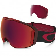 Oakley Airbrake XL, Obsessive Lines Red