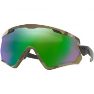 Oakley Wind Jacket 2.0, Army Camo, Prizm Jade Iridium