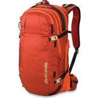 Dakine Poacher 36L, röd/orange