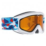 Alpina Carat, skidglasögon, vit konfetti
