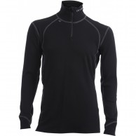 Ulvang Thermo Turtle neck w/zip Ms, svart