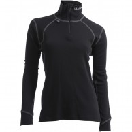 Ulvang Thermo Turtle neck w/zip Ws, dam, svart