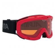 Alpina Ruby S, skidglasögon, röd