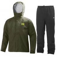 Helly Hansen Seven J set, regnkläder, herr, ivy green