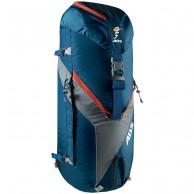 ABS Vario 45+5 Zip On, väska för ryggsäck, blå/orange