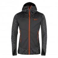 Kilpi Assasin-M Fleece hoodie, herr, mörkgrå