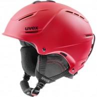 Uvex p1us 2.0 skidhjälm, röd