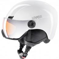 Uvex hlmt 400 skidhjälm med visir, vit