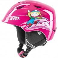 Uvex airwing 2, skidhjälm, pink