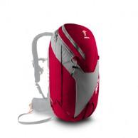ABS Vario 32 Zip On, väska för ryggsäck, röd/grå