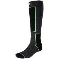 4F Ski Socks, billiga skidstrumpor, mörkgrå
