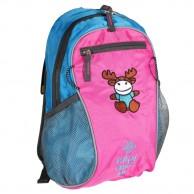 Kilpi Först barn ryggsäck, lujsblå/pink