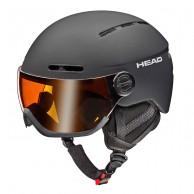 HEAD Knight visir skidhjälm svart
