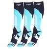 4F Ski Socks, 3 par Billiga Skidstrumpor, Navy