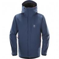 Haglöfs Niva Insulated Jacket, herr jacka, blå