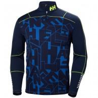 Helly Hansen Lifa Active Graphite 1/2 Zip, herr, blå