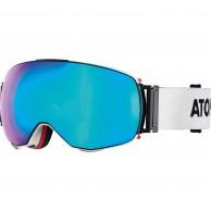Atomic Revent Q, goggles, vit/blå