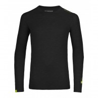 Ortovox Merino 105 Ultra Long Sleeve, svart