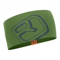 Ortovox Merino Cool Logo pannband, grön