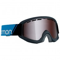 Salomon Juke goggles, svart/tonic orange