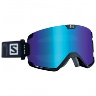 Salomon Cosmic goggles, svart/lo light blue