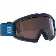 Salomon Kiwi goggles, svart/blå