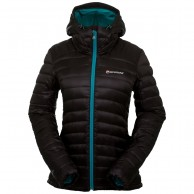 Montane Featherlite Down Jacket, dam, svart