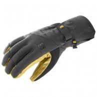 Salomon Propeller Dry skidhandskar, svart/gul