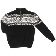 Typhoon Drammen stickat sweater, herr, svart