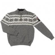 Typhoon Drammen stickat sweater, herr, mörkgrå