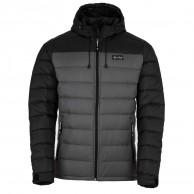 Kilpi Svalbard-M, dunjacka, herr, svart/grå