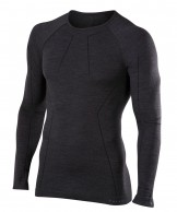 Falke Long Sleeved Shirt Wool-Tech, herr, svart