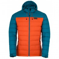 Kilpi Svalbard-M, dunjacka, herr, orange