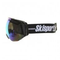 Demon Alpiner skidglasögon, svart/röd, Skisport.dk Edition