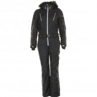 DIEL Ski Spirit skidoverall, dam, svart/vit