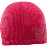 Salomon Logo Beanie, rosa